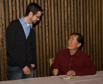 Apt613 member and George Takei
